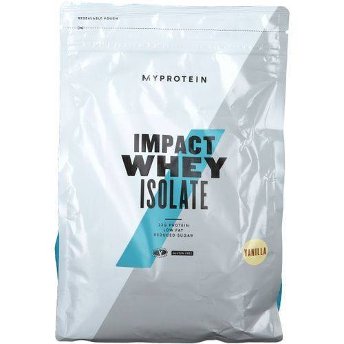 MyProtein Impact Whey Isolate, Vanille, Pulver 1000 g Pulver