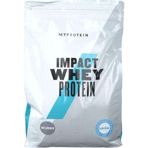 MyProtein Impact Whey Protein, Neutral, Pulver 2500 g Pulver