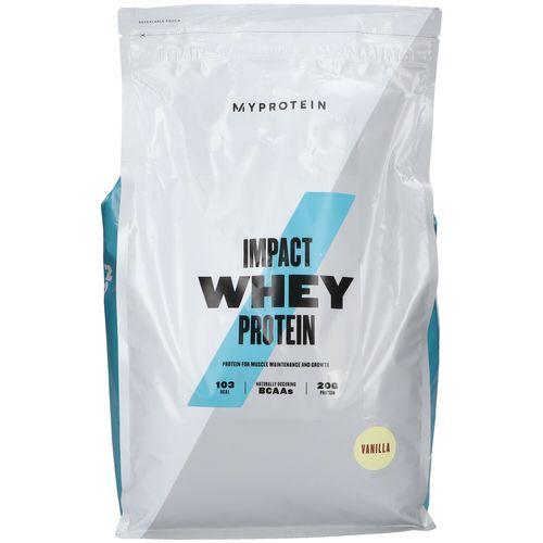 MyProtein Impact Whey Protein, Vanille, Pulver 5000 g Pulver