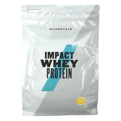MyProtein Impact Whey Protein, Banane, Pulver 1000 g Pulver