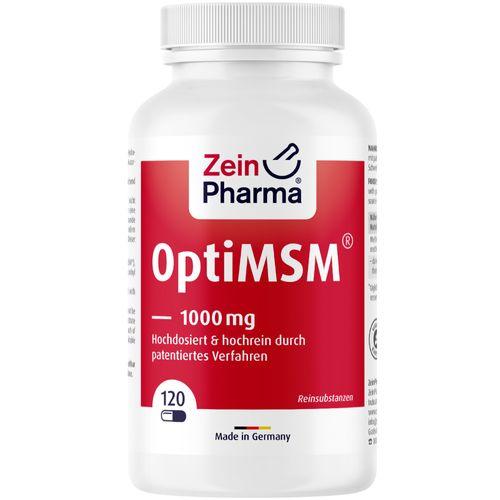 ZeinPharma Opti MSM Kapseln 1000 mg ZeinPharma 120 St Kapseln
