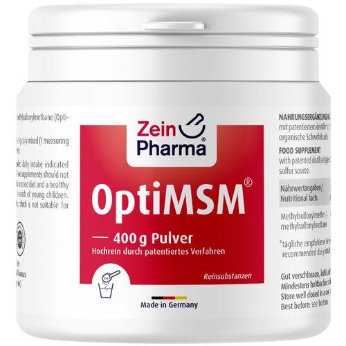 ZeinPharma MSM Pulver OptiMSM ZeinPharma 400 g Pulver