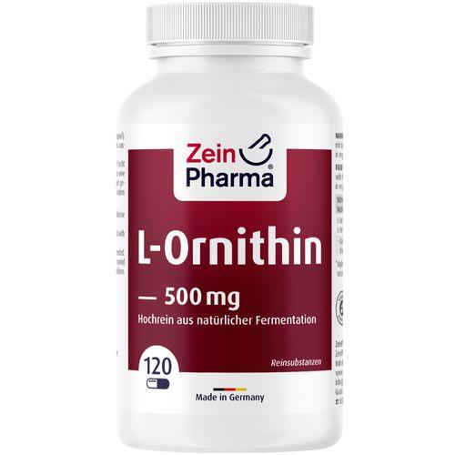 ZeinPharma L Ornithin Kapseln 500 mg ZeinPharma 120 St Kapseln