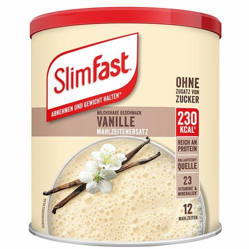 SlimFast Slim Fast Milchshake-Pulver Vanille 438 g Pulver