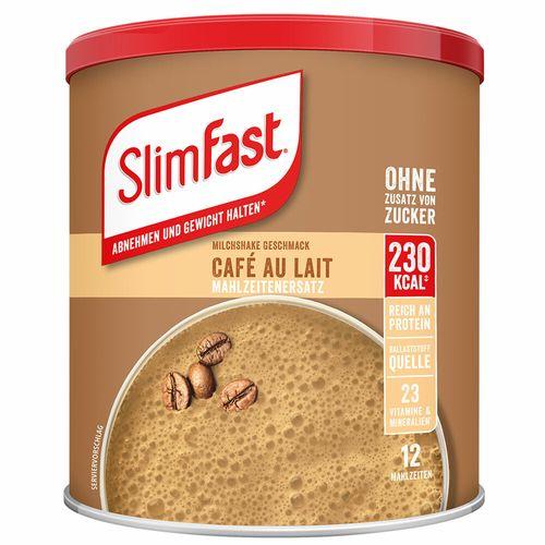 SlimFast Slim Fast Milchshake-Pulver Café au lait 438 g Pulver