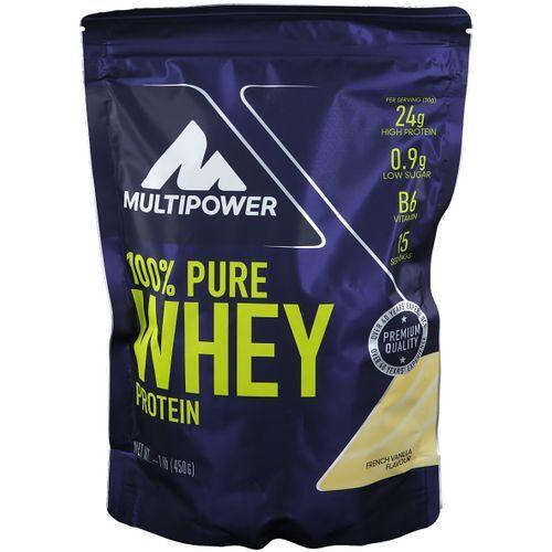 Multipower 100 % Whey Protein, Vanille, Pulver 450 g Pulver