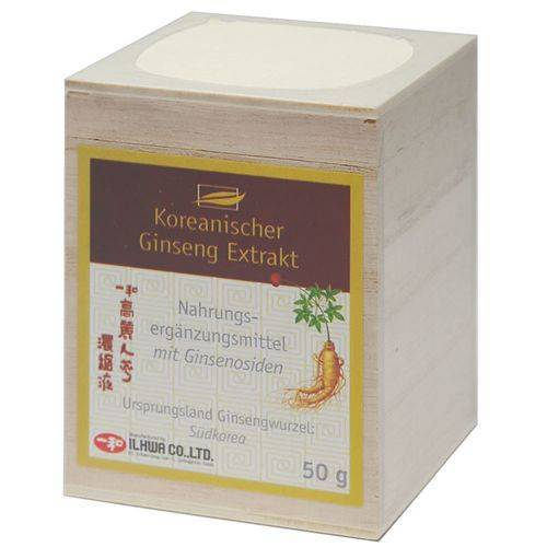 allcura Koreanischer Ginseng-Extrakt 50 g Extrakt