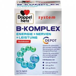 Doppelherz® system B-Komplex 120 St Tabletten
