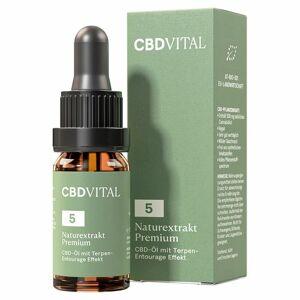 CBD Vital Naturextrakt Premium Öl 5 % 10 ml Tropfen
