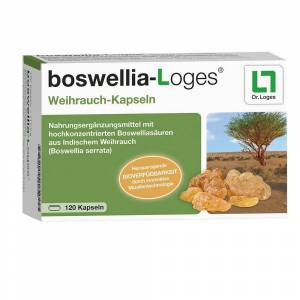 Dr. Loges + Co. GmbH boswellia-Loges® Weihrauch-Kapseln 120 St Kapseln