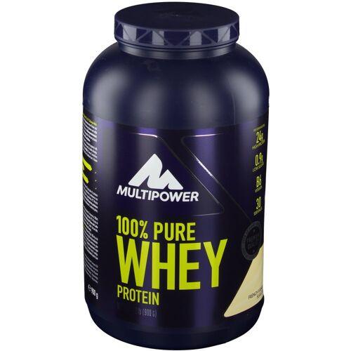 Multipower 100 % Whey Protein, French Vanilla, Pulver 900 g Pulver