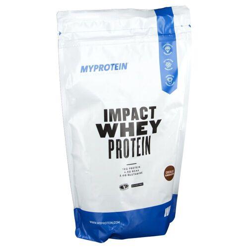 MyProtein Impact Whey Protein, Chocolate Smooth, Pulver 1000 g Pulver
