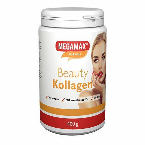 Megamax B.V. Megmax® Beauty Kollagen 400 g Pulver