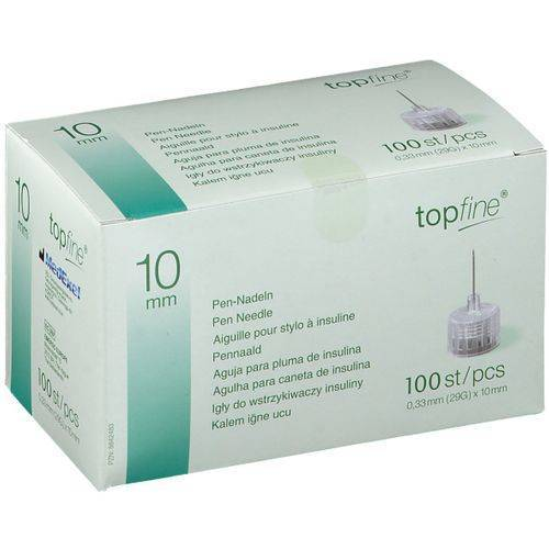 topfine® Kanüle 29 G 10 mm 100 St Kanüle
