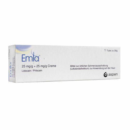 Emla® Emla® 25 mg/g Lidocain + 25 mg/g Prilocain 30 g Creme