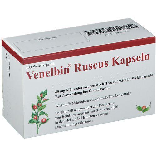 Venelbin Ruscus 100 St Weichkapseln