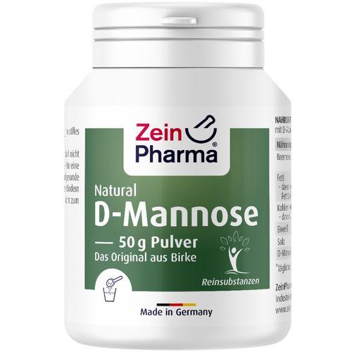 ZeinPharma Natural D Mannose Pulver ZeinPharma 50 g Pulver