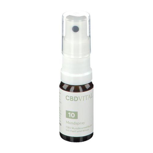 Vitrasan GmbH Cbdvital CBD Mundspray 10 ml Spray