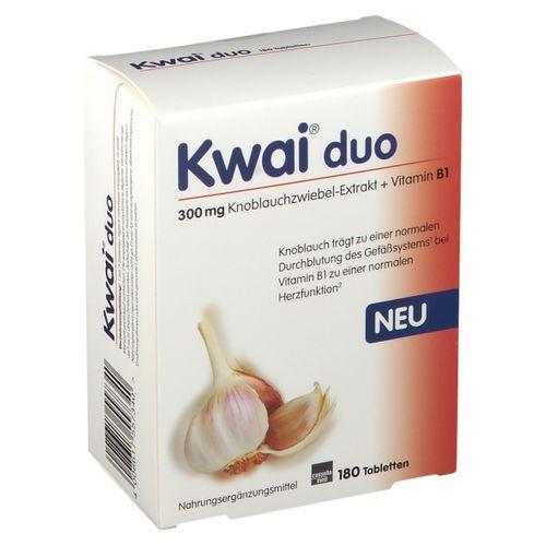 MCM KLOSTERFRAU Vertr. GmbH Kwai® duo 180 St Tabletten