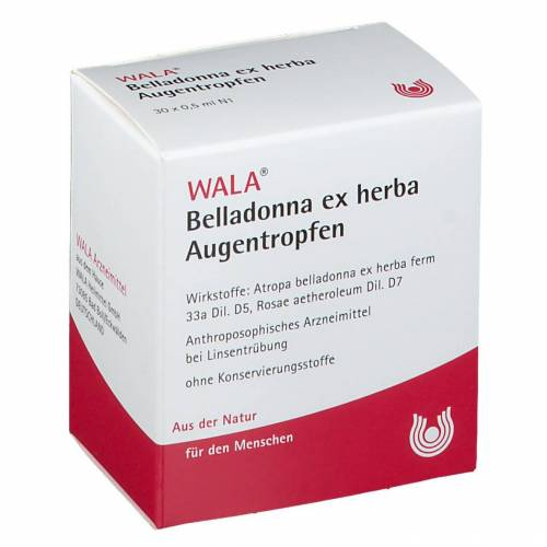Wala® Belladonna ex herba Augentropfen 30X0.5 ml Augentropfen