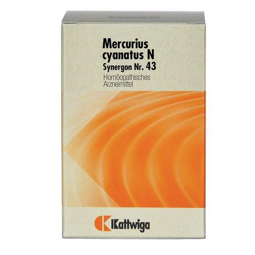 Kattwiga Synergon 43 Mercurius cyanatus N Tabletten 200 St Tabletten