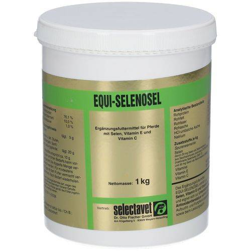 selectavet Equi-Selenosel Pulver 1000 g Pulver