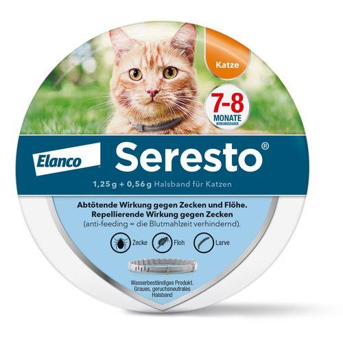 Elanco Deutschland GmbH Seresto® Halsband für Katzen 1 St Halsband