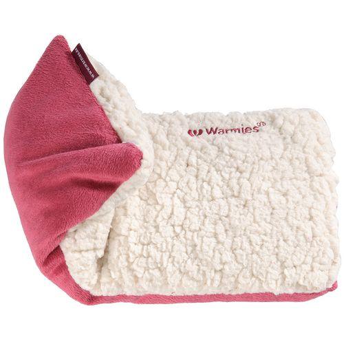 Warmies® Hot-Pak® Sherpa rot beige 1 St Wärmekissen