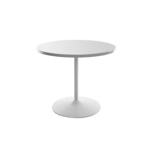 Miliboo Design-Esstisch Weiß D90 CALISTA
