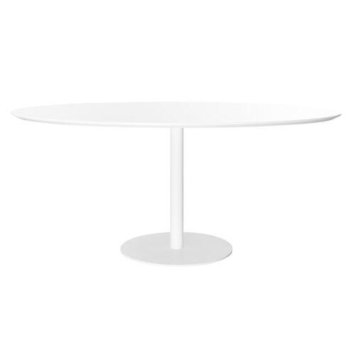 Miliboo Design-Esstisch Weiß L169 HALIA