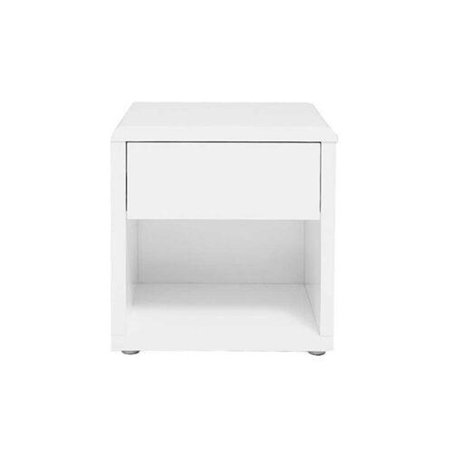Miliboo Design-Nachttisch ELIAH Weiß