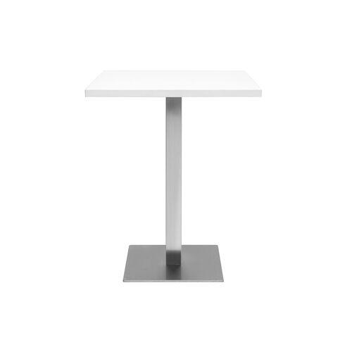Miliboo Esstisch JORY in weißem quadratischem Design