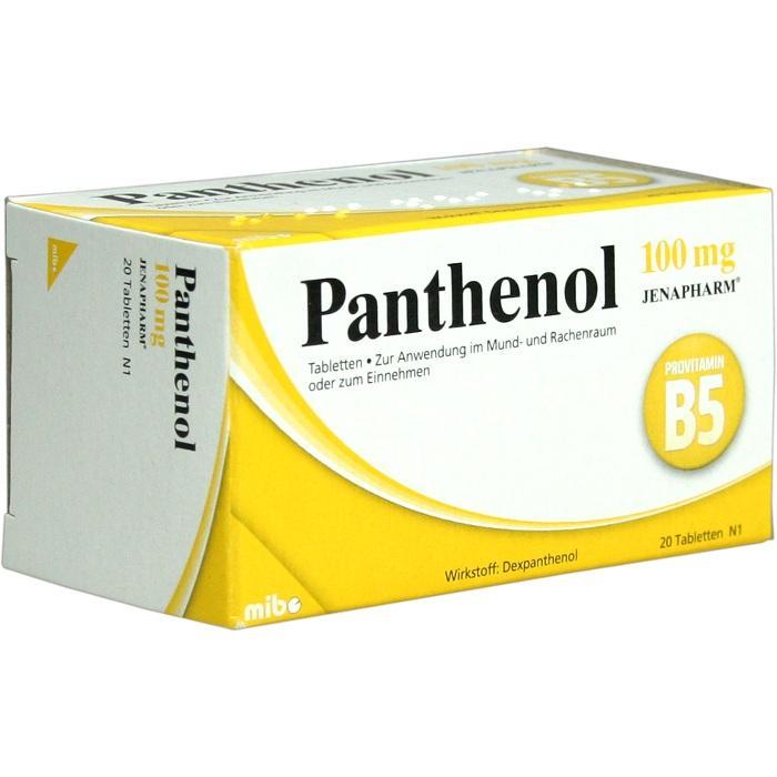 MIBE GmbH Arzneimittel PANTHENOL 100MG Jenapharm