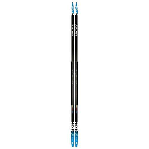 Salomon RC SKIN STIFF Gr.201 - Langlaufski - schwarz blau