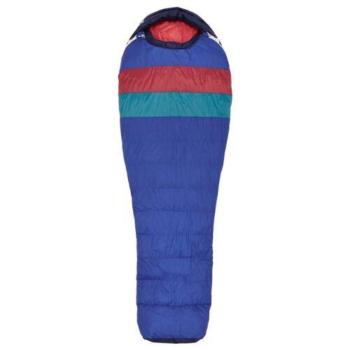 Marmot FUCOSA -1 - Daunenschlafsack - Gr. SHORT - SURF TOMATO / blau rot - 3-Jahreszeiten-Schlafsack