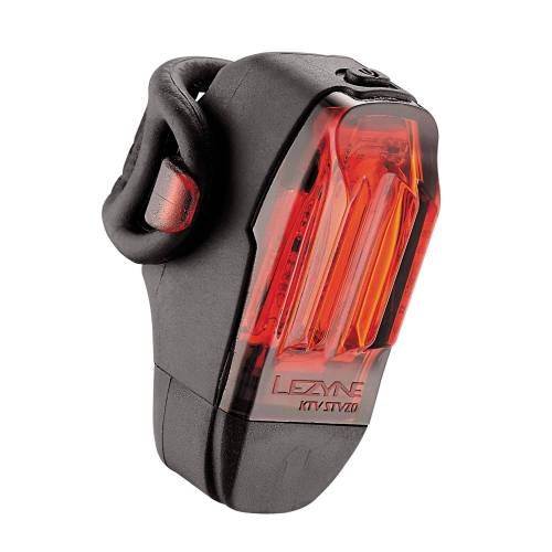 Lezyne LED KTV DRIVE (REAR) STVZO - Fahrradbeleuchtung - schwarz