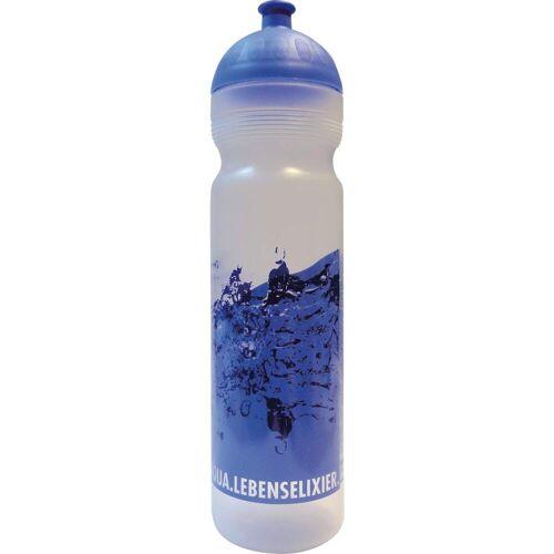 Isybe SPORTTRINKFLASCHE Gr.1 L - Trinkflasche - blau weiß
