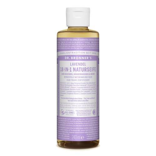 Dr. Bronner' s 18-IN-1 NATURSEIFE - Outdoor Seife - lila