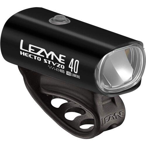 Lezyne HECTO DRIVE 40 STVZO Y11 - Fahrradbeleuchtung - schwarz