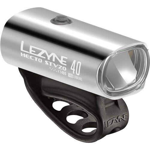 Lezyne HECTO DRIVE 40 STVZO Y11 - Fahrradbeleuchtung - grau