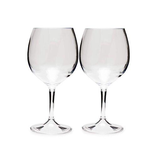 GSI NESTING RED WINE GLASS SET - Campinggeschirr - weiß