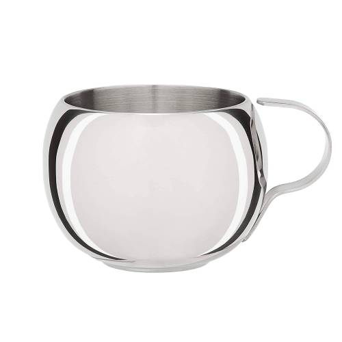 GSI GLACIER STAINLESS DOUBLE WALLED ESPRESSO CUP Gr.40 ML - Campinggeschirr - grau