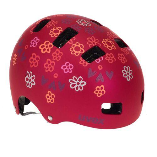 Uvex KID 3 CC Kinder - Fahrradhelm - rot