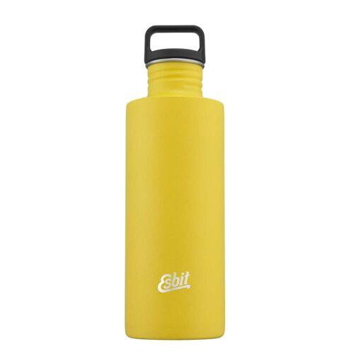 Esbit SCULPTOR EDELSTAHL TRINKFLASCHE - Trinkflaschen Neu 2020 - gelb
