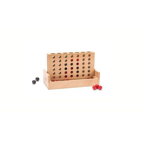 Kikkerland 4 IN A ROW Kinder Gr.5 x 17,5 x 9 cm - Spielzeug - weiß