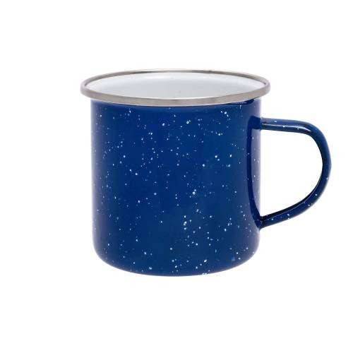 Origin Outdoors EMAILLE TASSE Gr.360 ml - Becher - blau