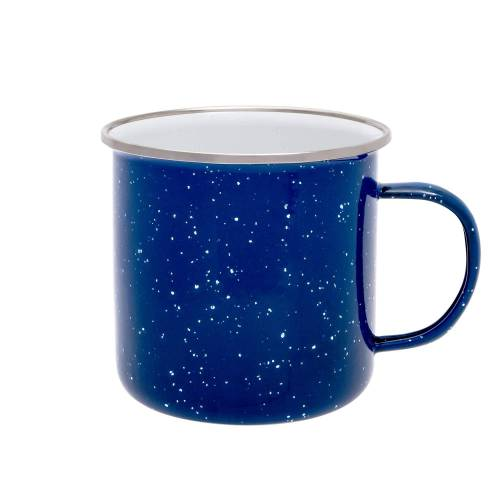 Origin Outdoors EMAILLE TASSE Gr.530 ml - Becher - blau