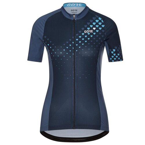 Gore Wear GORE C3 DAMEN HEART TRIKOT Frauen Gr.36 - Fahrradtrikot - blau