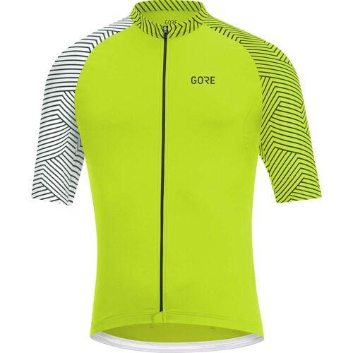 Gore Wear C5 JERSEY Männer - Fahrradtrikot - gelb