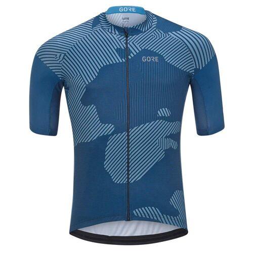 Gore Wear GORE C3 COMBAT TRIKOT Männer Gr.M - Fahrradtrikot - blau